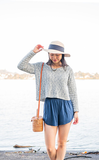 Crochet Cropped Sweater Pattern By FortheFrillsStore