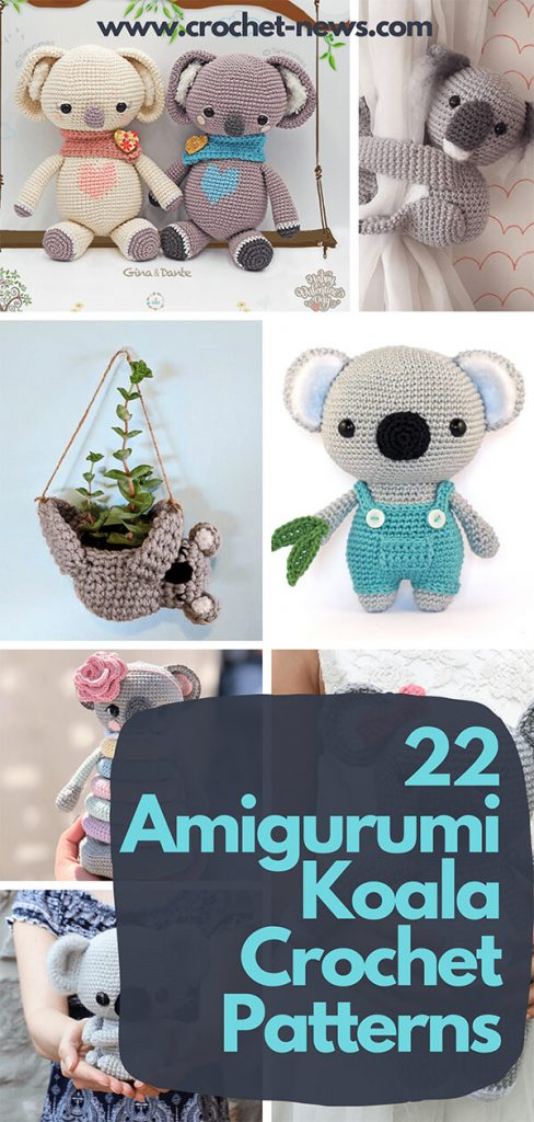 22 Amigurumi Koala Crochet Patterns