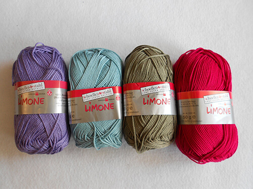 Limone yarn By WOLLalaa