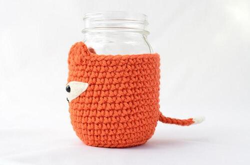 Mason Jar Cozy Details By PopsDeMilk