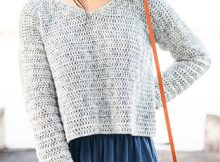 Summer Cropped Sweater By FortheFrillsStore