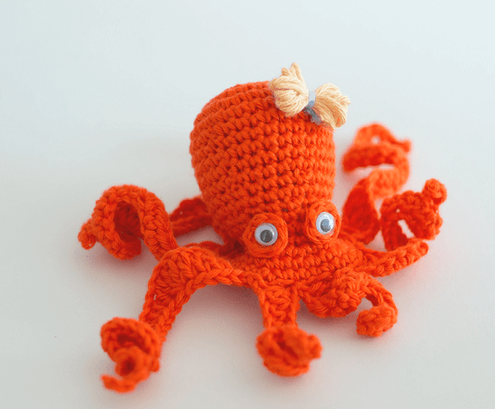 Crochet Amigurumi Octopus Pattern by Croby Patterns