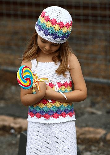 Crochet Baby Beanie Pattern by Deanne Ramsay