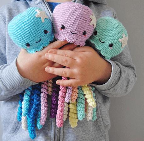 Crochet Octopus Pattern by Lil Crochet Love