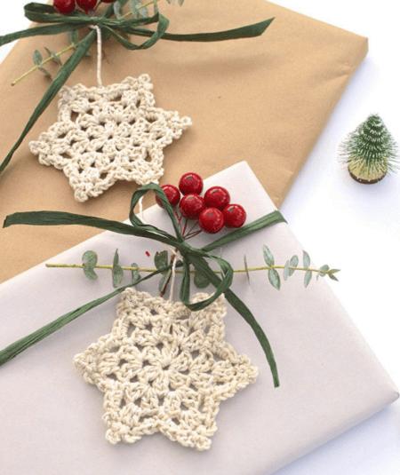 Crochet Snowflake Pattern by Bella Coco Crochet