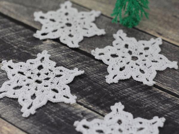 Crochet Star Snowflake Pattern by Etty 2504