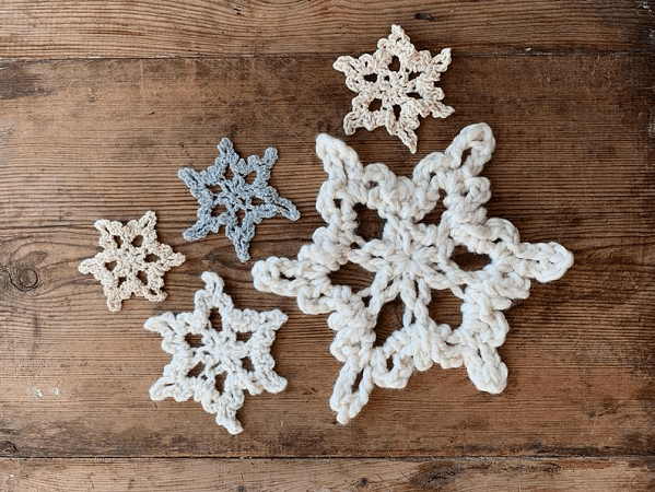 Everlasting Snowflakes Crochet Pattern by Two Of Wands Shop