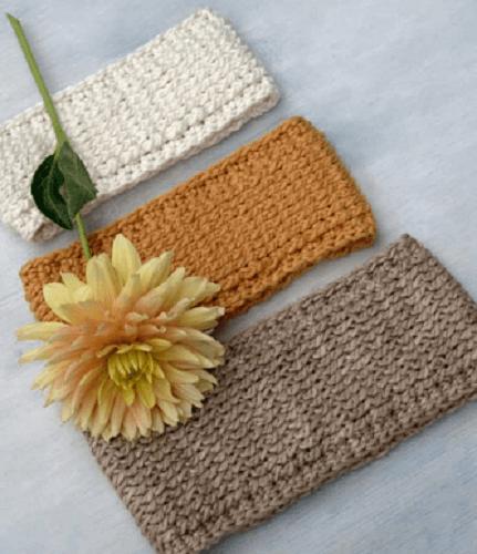 Free Crochet Ear Warmer Pattern by Crochet Life