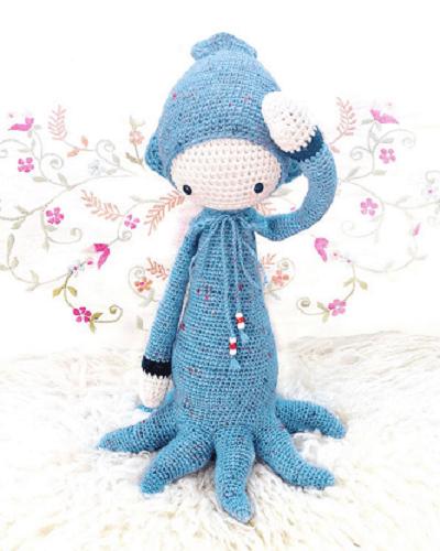 Oleg, The Octopus Crochet Pattern by Lalylala