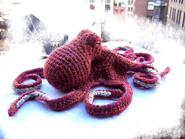 Realistic Octopus Amigurumi Pattern by Elena's Times