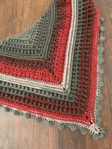 Sienna Star Shawl Crochet Pattern by Mj Art At Heart