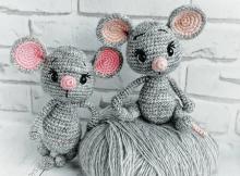 Venya, The Mouse Amigurumi Pattern by Amigurumi Space