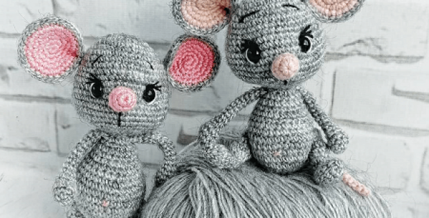 Venya, The Mouse Amigurumi Pattern by Amigurumi Space