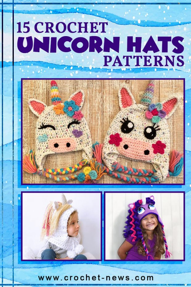 15 CROCHET UNICORN HAT PATTERNS