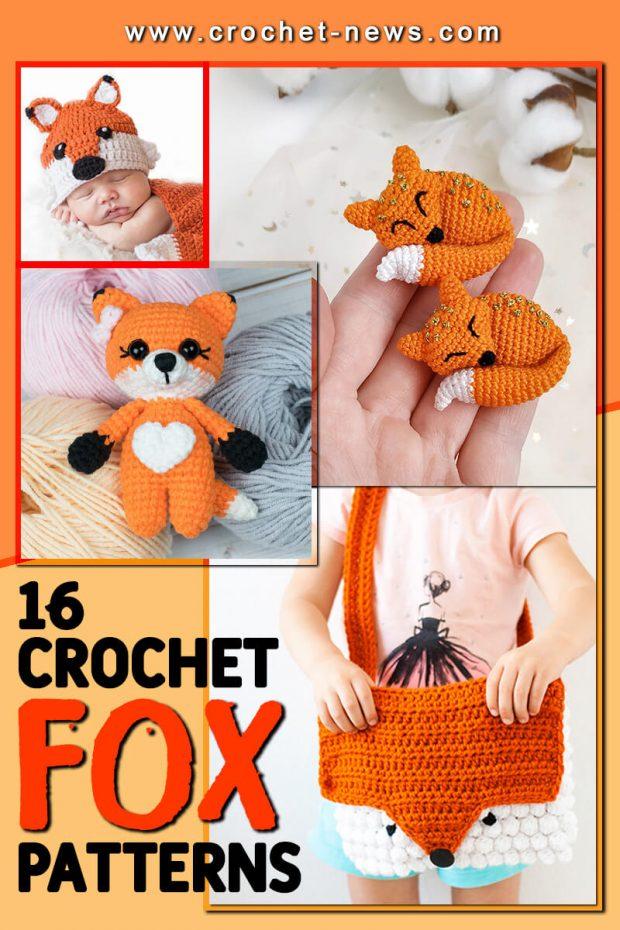 CROCHET FOX PATTERNS