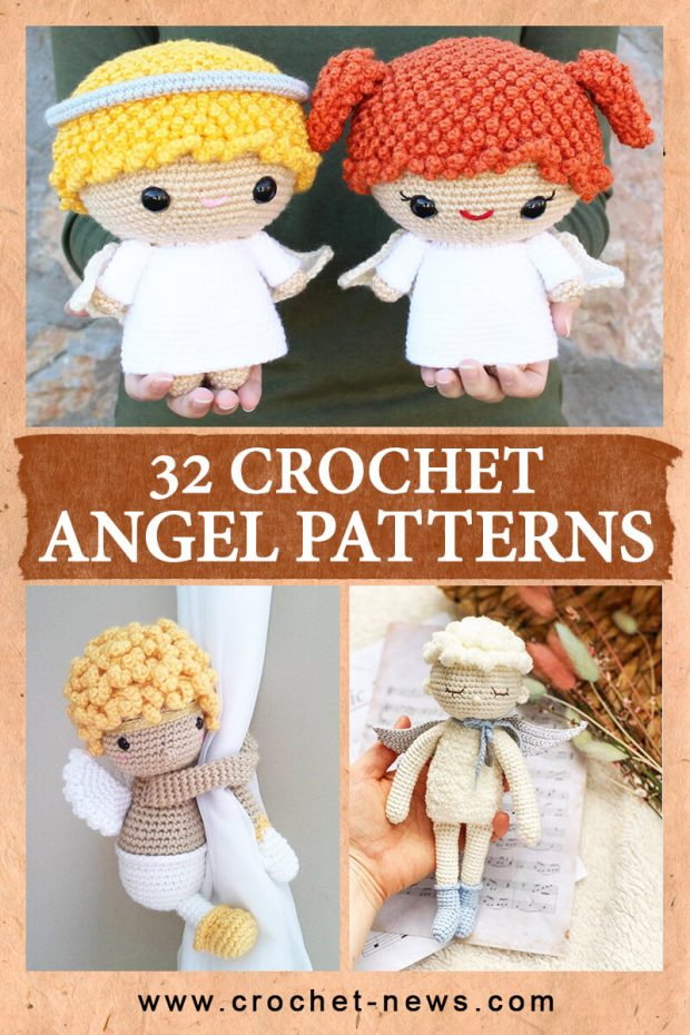 32 CROCHET ANGEL PATTERNS