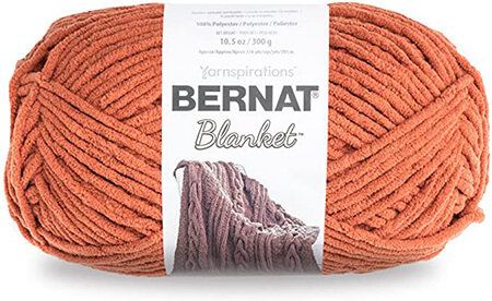 Bernat Blanket Yarn in Pumkin Spice By Amazon