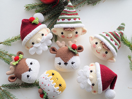 Crochet Christmas Decoration By RNata