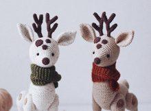 Crochet Deer Amigurumi Pattern By SweetPatternsLab