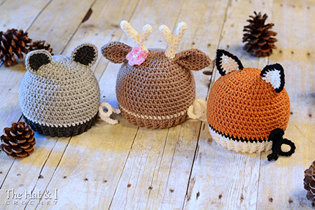 Forest Friends Crochet Deer Pattern By TheHatandI