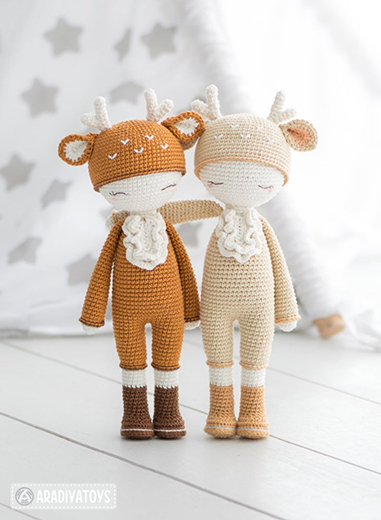 Friendy Annie The Deer Pattern By AradiyaToys
