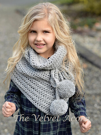 The Pennon Shawl Crochet Pattern By Thevelvetacorn