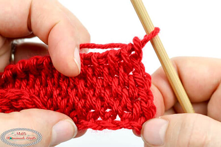 Tunisian Crochet Full Stitch From Nickishomemadecrafts