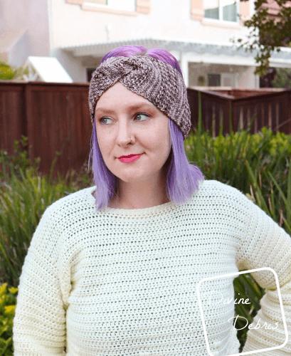 Artemis Headband Crochet Pattern by Divine Debris