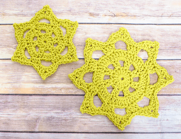 Chunky Crochet Doily Pattern by Petals To Picots