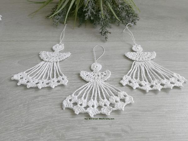 Crochet Angel Ornament Pattern by Crochet Or Patterns