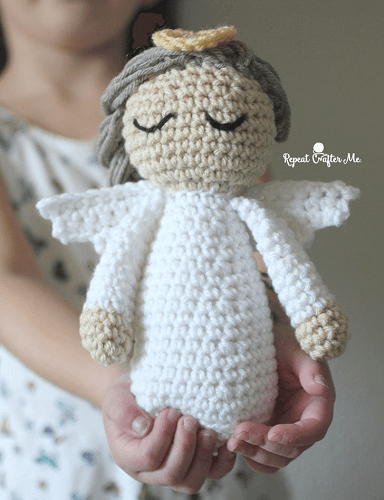 Crochet Angel Pattern by Repeat Crafter Me