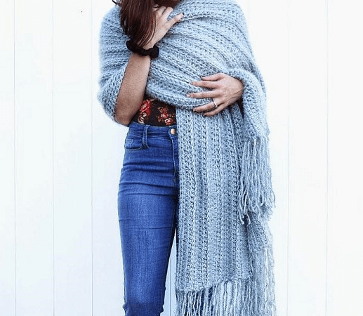 Crochet Bulky Winter Scarf Pattern by Sigoni Macaroni