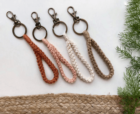 Crochet Halycon Keychain Pattern by Christina Ann Studios