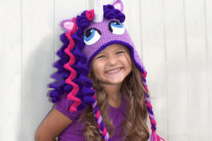 Crochet Unicorn Hat Pattern by Bri Abby HMA