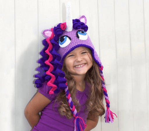 Crochet Unicorn Hat Pattern by Bri Abby HMA