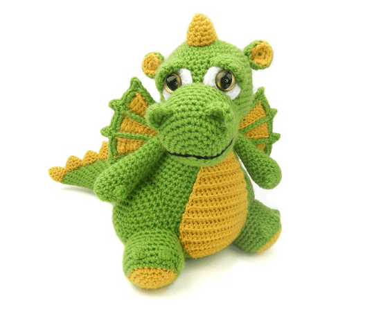 Drake, The Dragon Crochet Pattern by Moji Moji Design