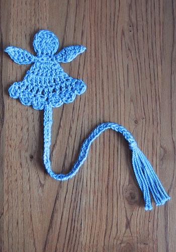 Little Angel Bookmark Crochet Pattern by Suzetta Williams