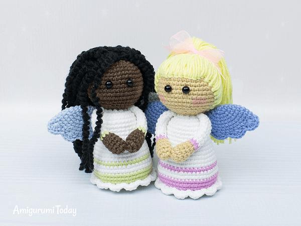Lovely Angel Crochet Pattern by Amigurumi Today