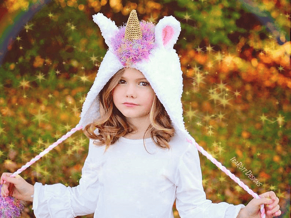 Stardust The Unicorn Hat Crochet Pattern by Ira Rott Patterns