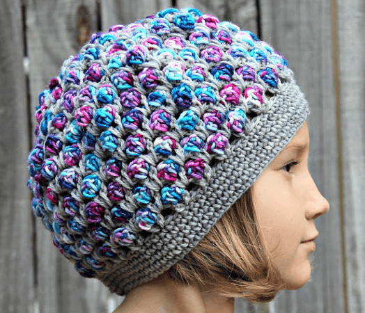 The Sterling Unicorn Hat Crochet Pattern by The Philosopher's Wife