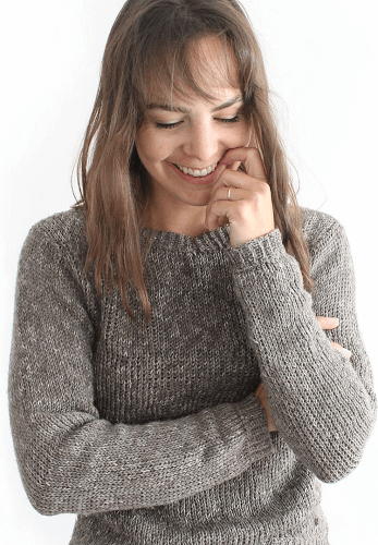 Tunisian Crochet Sweater Pattern by Kay Krochets