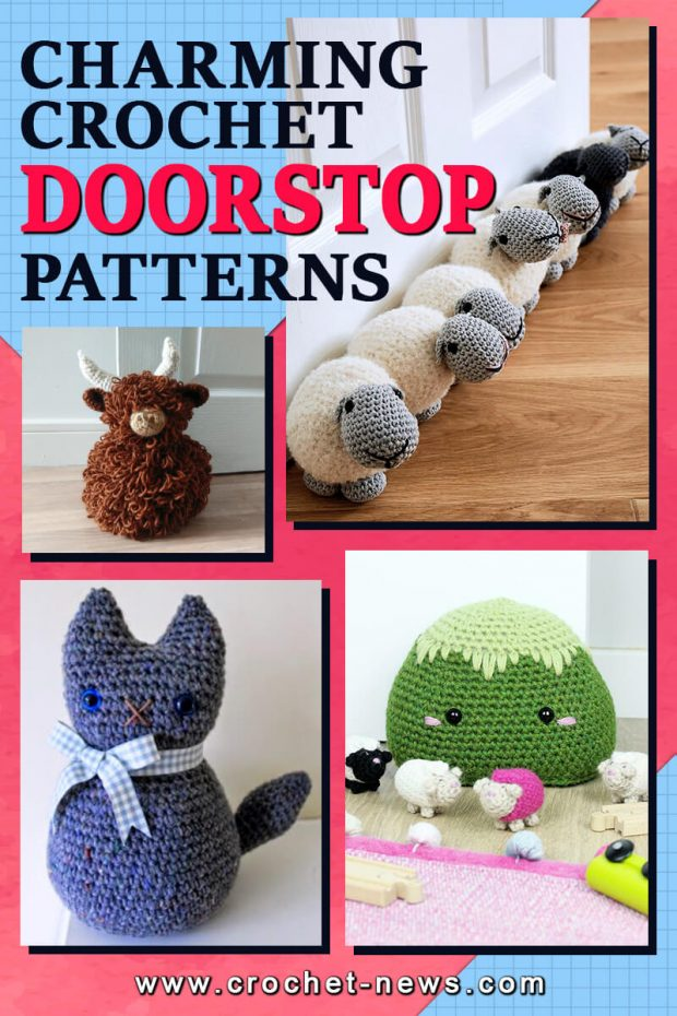CHARMING CROCHET DOORSTOP PATTERN