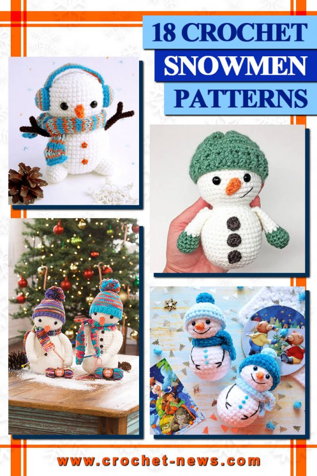 crochet snowmen patterns