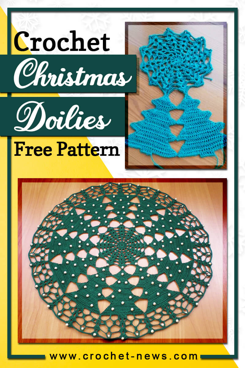 crochet christmas doilies free pattern