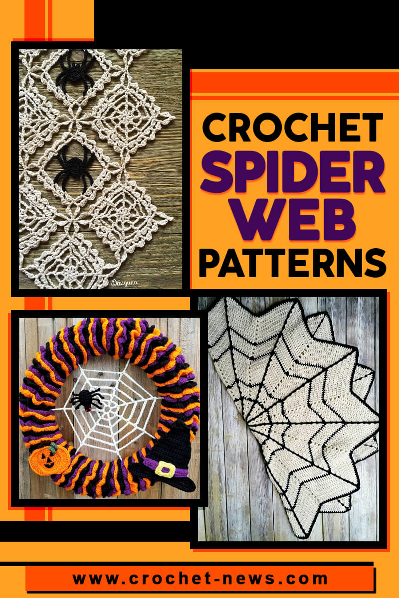 CROCHET SPIDER WEB PATTERNS