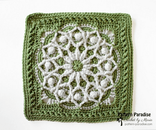 Casablanca Crochet Square Pattern by Pattern Paradise