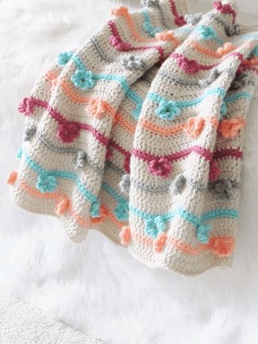 Free Crochet Afghan Pattern by Crochet Dreamz