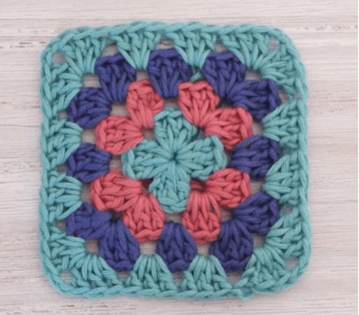 Crochet Beautiful Square Pattern by I Love Crochet