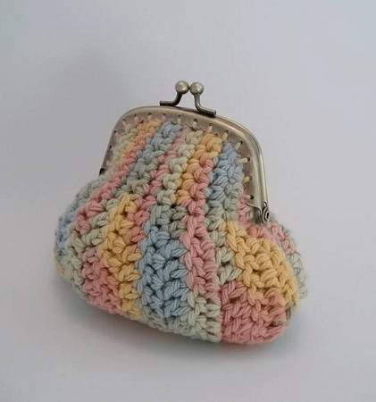 Crochet Coin Purse Pattern by The Hook Hound