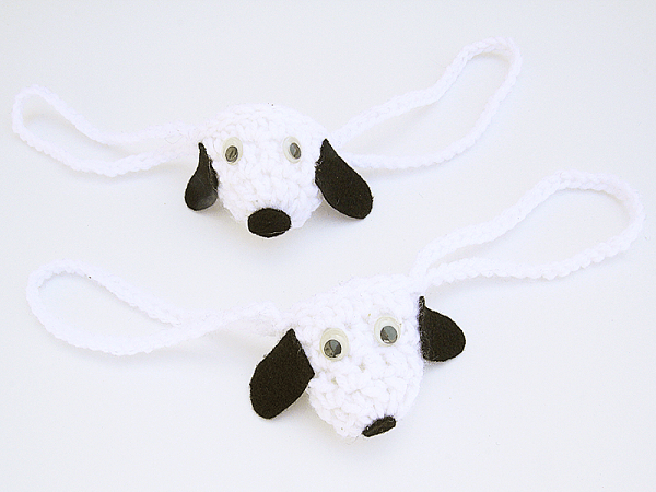 Crochet Doggy Nose Warmer Pattern by Creative Jewish Mom